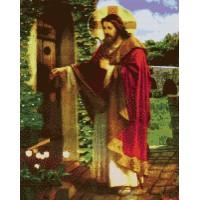 ИСУС ЧУКАЩ ВЪВ ВРАТА - диамантен гоблен 45014