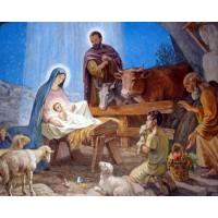 РАЖДАНЕТО НА ИСУС Диамантен гоблен 45134