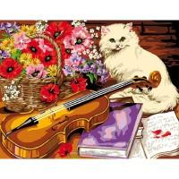 Котка с цигулка EX 6123