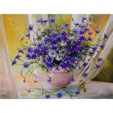 Комплект за рисуване по номера. Цветя във ваза – GX 24770