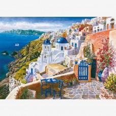Комплект за рисуване по номера. Санторини – GX 9589