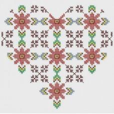 Българска шевица - диамантен гоблен 010101