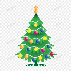 Коледна елха - диамантен гоблен 10121