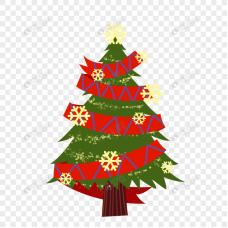 Коледна елха - диамантен гоблен 10122