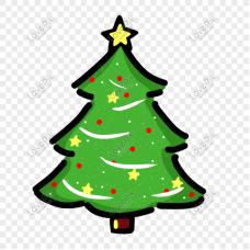 Коледна елха - диамантен гоблен 10120
