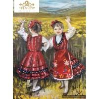 Танцуващи момичета Диамантен гоблен NM 006