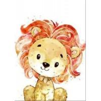GI 203047 Диамантен гоблен - Лъв
