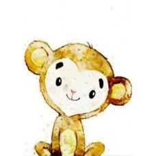 GI 203048 Диамантен гоблен - Маймунка