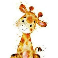 GI 203046 Диамантен гоблен - Жираф