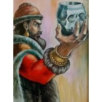 Чашата на хан Крум- Диамантен гоблен LD 304010