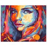 Комплект за рисуване по номера. Момиченце – GX 23635