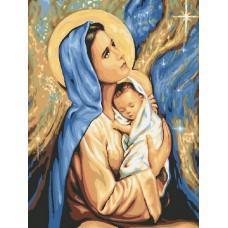 Комплект за рисуване по номера. Молитва – GX 24165