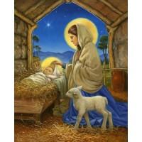 ИСУС В КОЧИНА - диамантен гоблен 45156