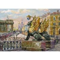 ГРИФОНИ - Диамантен гоблен 75052