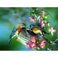 GI 304059  Диамантен гоблен -Птици