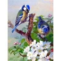 GI 304063  Диамантен гоблен -Птици