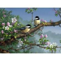 GI 304065  Диамантен гоблен -Птици