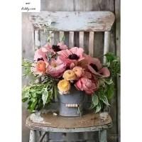 Цветя от градина- Диамантен гоблен FL 34072