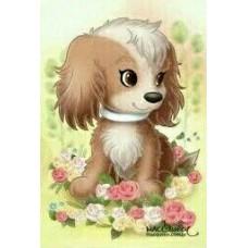GI 203016  Диамантен гоблен - Кученце