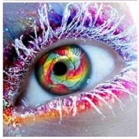 Ледени очи- диамантен гоблен LD 303067