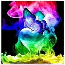 Пеперуди- диамантен гоблен LD 30406