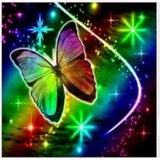 Бляскава пеперуда- диамантен гоблен LD 304068