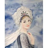 Руска царевна - диамантен гоблен LD 304019