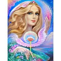 Богиня на Земята - диамантен гоблен LD 304017
