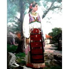 МОМА ОТ ВРАЧАНСКО - ИВАН МЪРКВИЧКА - Диамантен гоблен LD 405048