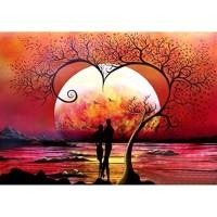 Вечер за влюбени - ДИАМАНТЕНИ ГОБЛЕНИ LD 203041
