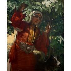 Девойка-ИВАН МЪРКВИЧКА - Диамантен гоблен LD 405043