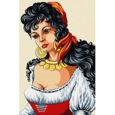 LD 203032 Диамантен гоблен - Испанска красавица