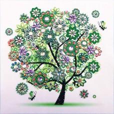 PZ 303047 Диамантен гоблен - Малко дърво