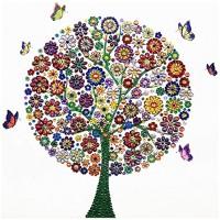 PZ 303053 Диамантен гоблен - Малко дърво