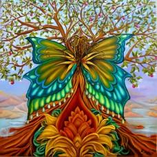 PZ 303036  Диамантен гоблен - Дърво на живота