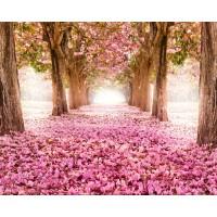 Розов път - Диамантен гоблен PZ 34081