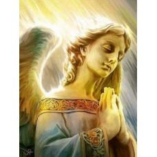 Ангелска молитва - диамантен гоблен IK 34123
