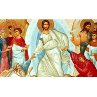 ХРИСТОС ВОСКРЕС - Диамантен гоблен IK 50302
