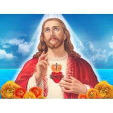 IK 30401 Диамантен гоблен -Исус Ви благословя
