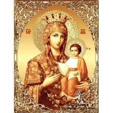 IK 304022  Икона на Божията майка златна