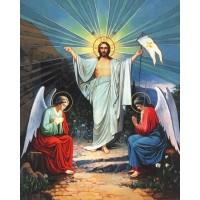 ВЪЗКРЕСЕНИЕ НА ИСУС ХРИСТОС - Диамантен гоблен IK 405033