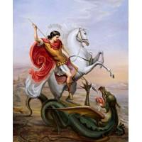 СВ.ГЕОРГИ ПОБЕДОНОСЕЦ - Диамантен гоблен IK 405024