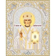 Комплект за бродиране с мъниста - Икона на Свети Николай Чудотворец  НИК- 5328