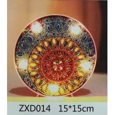 Лампа с диамантена мозайка 014
