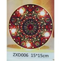 Лампа с диамантена мозайка 006