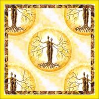 Мандала за любов и здраве- диамантен гоблен MD 404033