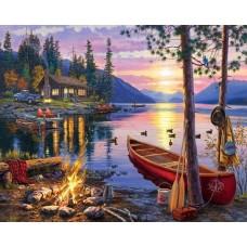 Вечер на езеро GX 28354