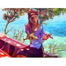 Магията на средиземноморието- Диамантен гоблен LD 405068