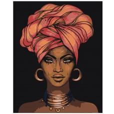 Картина по номера -Африканска перла  Z-169