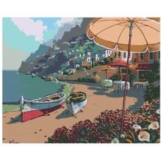 Картина по номера -  Плаж Тихият Залив ZG-002